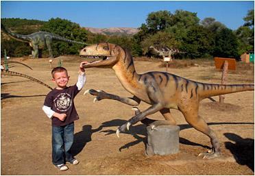 Мій світ динозаврів