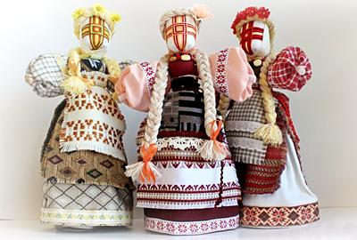 український оберіг - лялька-мотанка